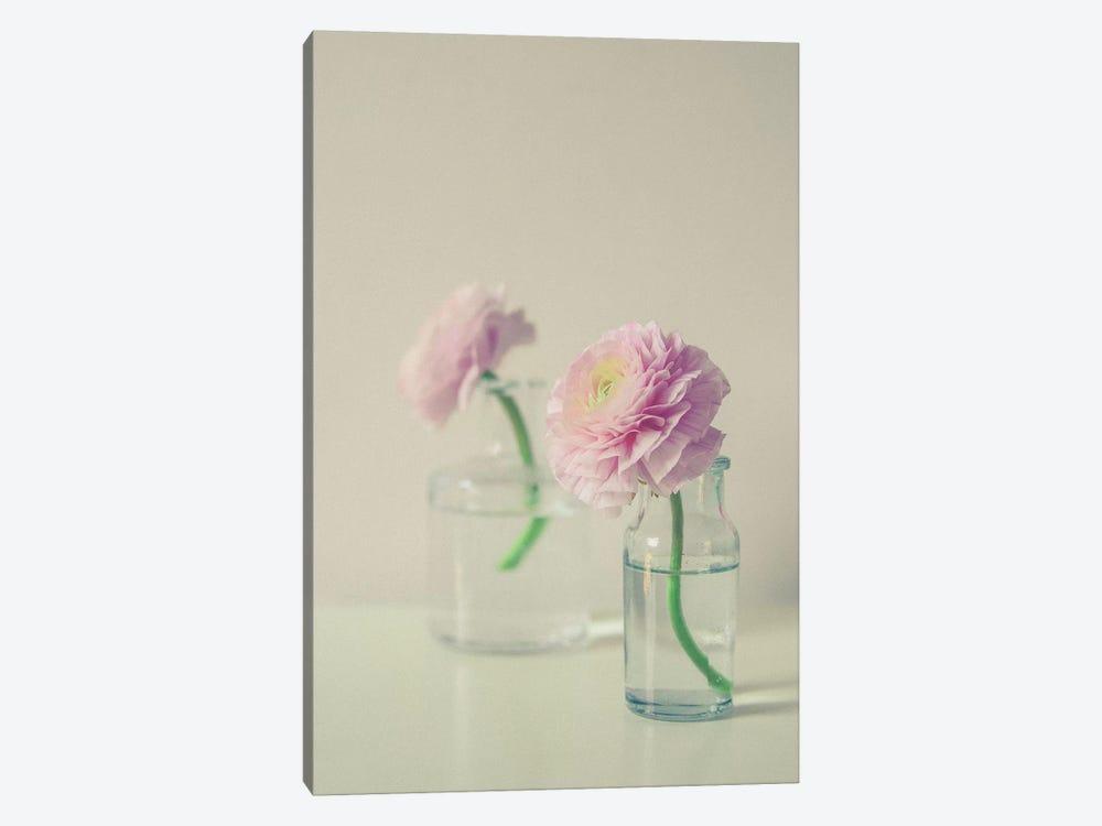 Pastel Floral Still Life by Olivia Joy StClaire 1-piece Art Print