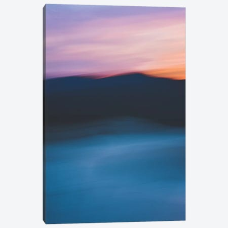 Sunset Over The Mountain 3-Piece Canvas #OJS181} by Olivia Joy StClaire Canvas Art Print