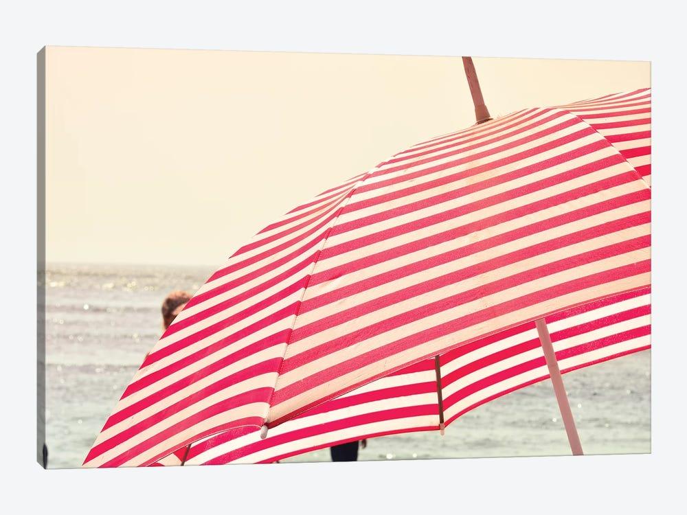 Summer Beach Umbrella by Olivia Joy StClaire 1-piece Art Print