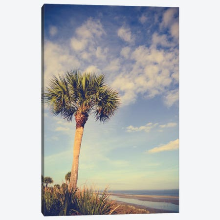 Palm Tree Paradise Canvas Print #OJS26} by Olivia Joy StClaire Canvas Wall Art