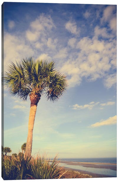 Palm Tree Paradise Canvas Art Print