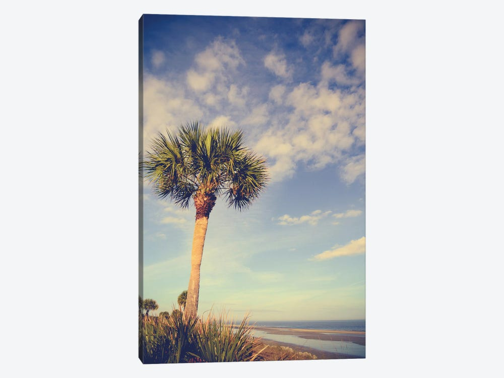 Palm Tree Paradise by Olivia Joy StClaire 1-piece Canvas Artwork
