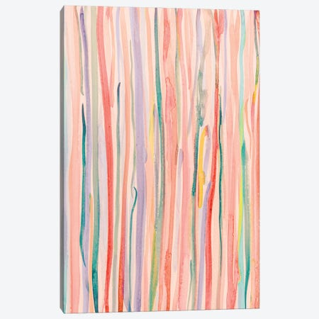Watercolor Lines Canvas Print #OJS289} by Olivia Joy StClaire Canvas Wall Art