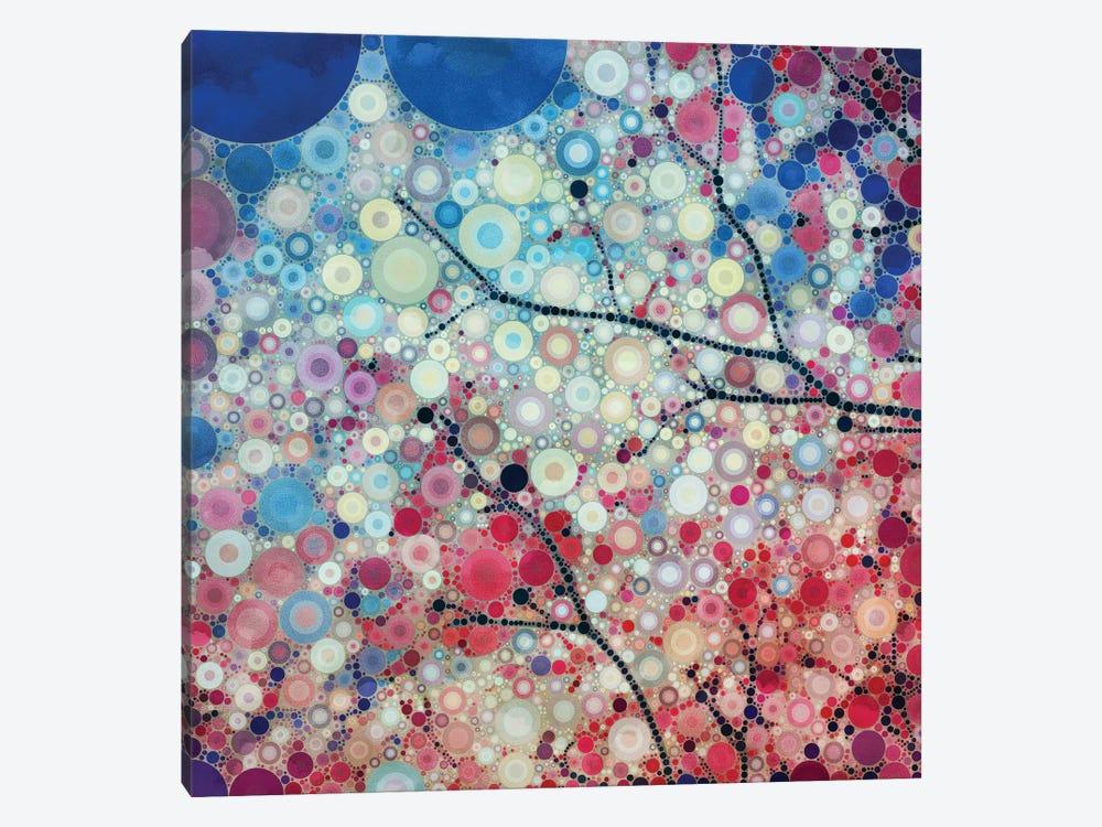 Positive Energy Blue by Olivia Joy StClaire 1-piece Canvas Art Print