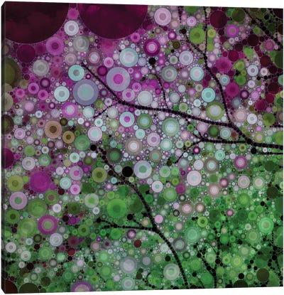Positive Energy Purple Canvas Print #OJS31