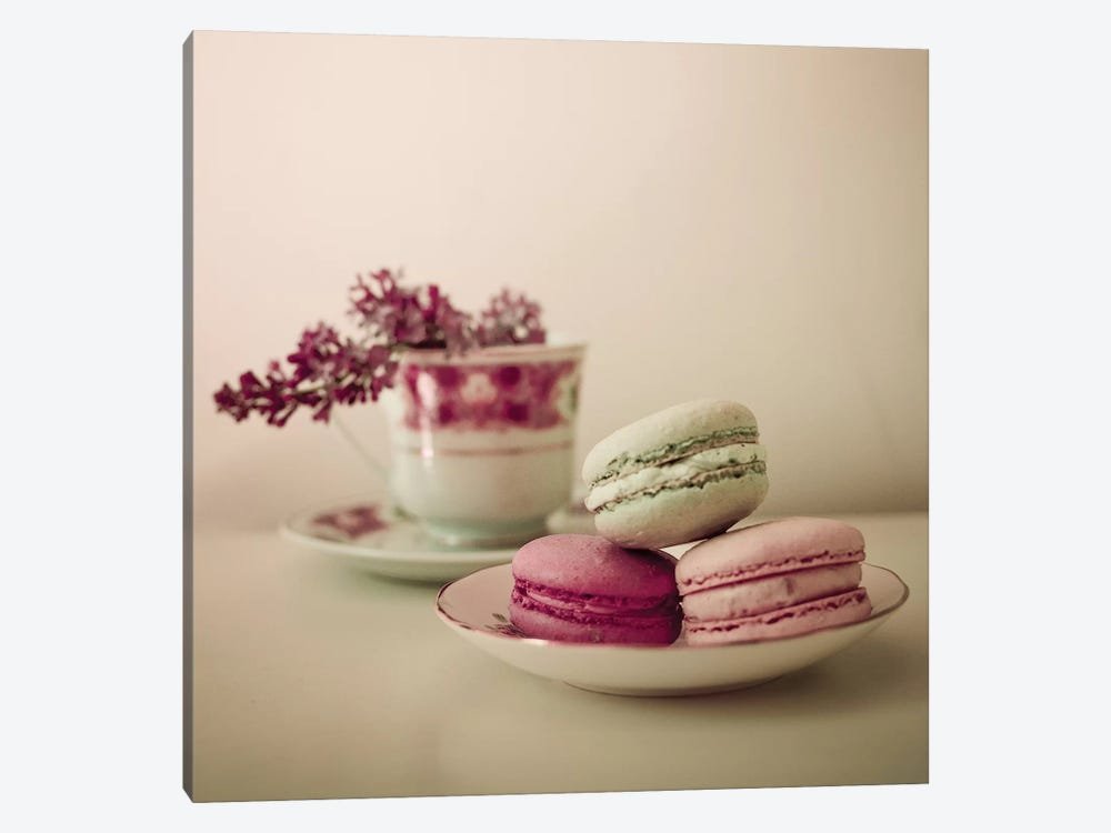 Pretty Macaroons by Olivia Joy StClaire 1-piece Canvas Print