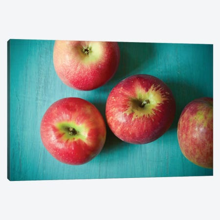 Apples Canvas Print #OJS3} by Olivia Joy StClaire Canvas Art Print