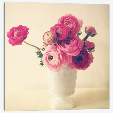 Spring Bouquet I Canvas Print #OJS41} by Olivia Joy StClaire Canvas Print