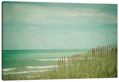 Summer At The Beach Canvas Art Print