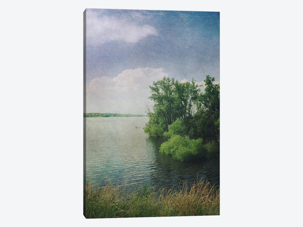 Water And Clouds by Olivia Joy StClaire 1-piece Canvas Artwork