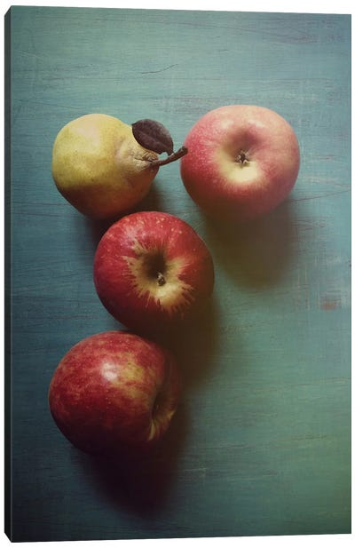 Autumn Apples Canvas Art Print
