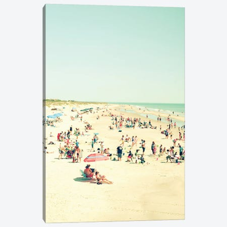 Beach Life Canvas Print #OJS52} by Olivia Joy StClaire Canvas Art