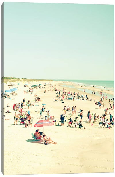 Beach Life Canvas Print #OJS52