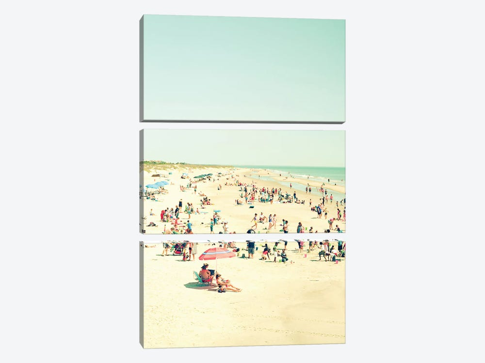 Beach Life by Olivia Joy StClaire 3-piece Canvas Print