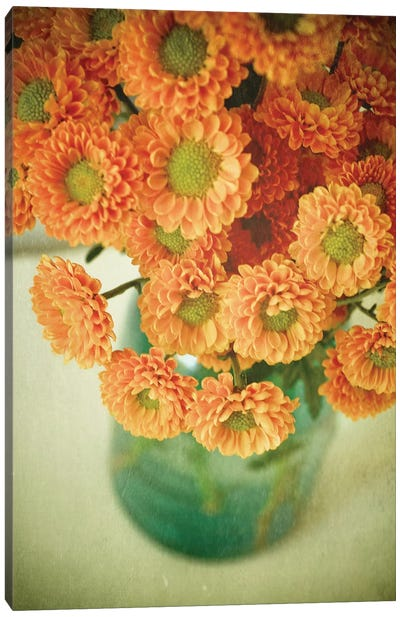 Autumn Bouquet Canvas Art Print