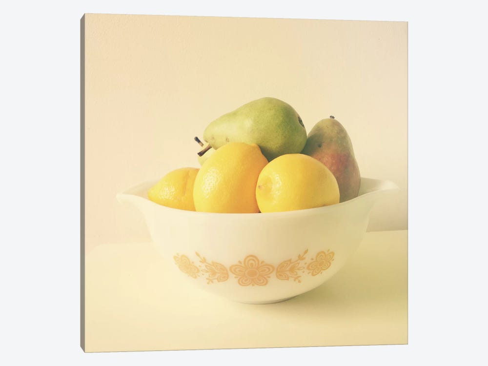 Retro Fruit 1-piece Canvas Art