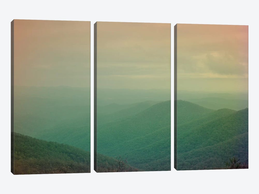 She Could Move Mountains by Olivia Joy StClaire 3-piece Canvas Wall Art