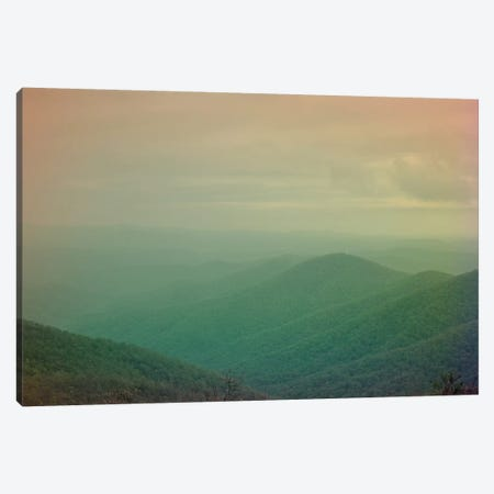 She Could Move Mountains Canvas Print #OJS73} by Olivia Joy StClaire Canvas Artwork