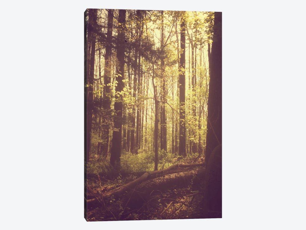 She Experienced Heaven On Earth Among The Trees 1-piece Art Print