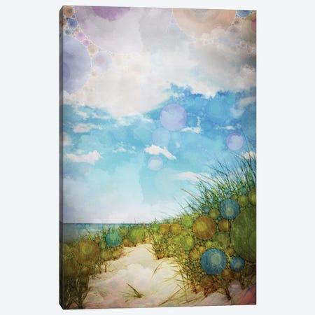 Beach Canvas Print #OJS7} by Olivia Joy StClaire Canvas Wall Art