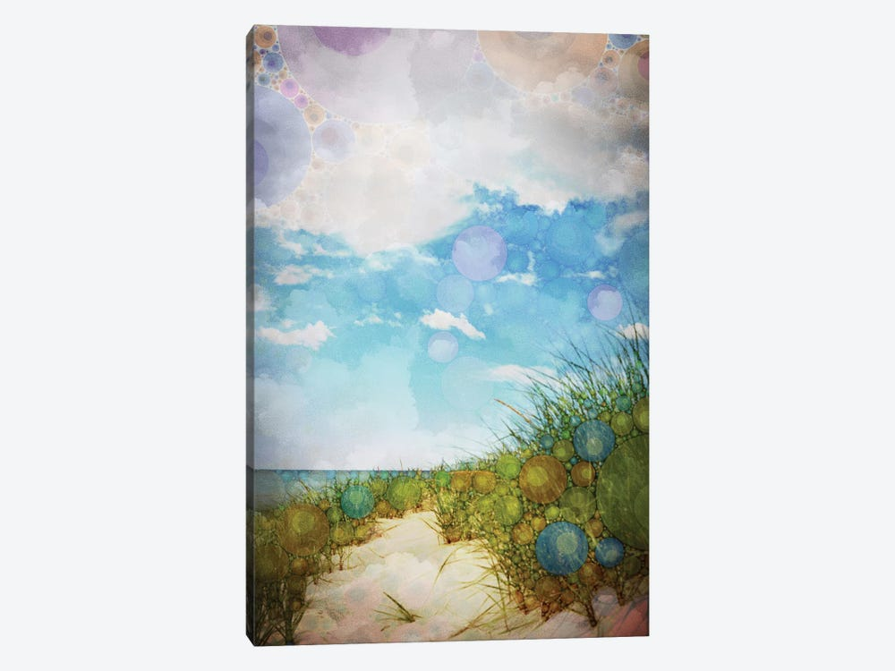 Beach by Olivia Joy StClaire 1-piece Canvas Art