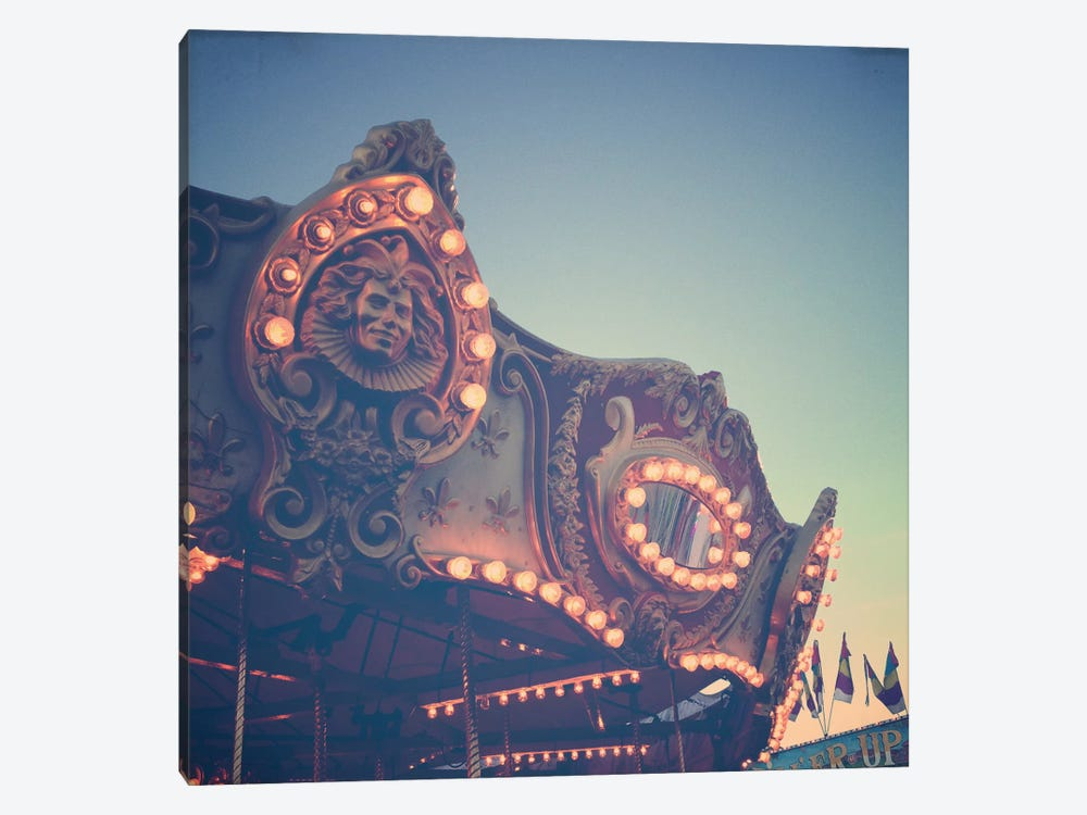 Twilight Carnival Ride by Olivia Joy StClaire 1-piece Canvas Art