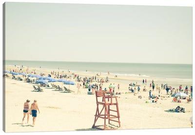 Beach People Canvas Print #OJS8