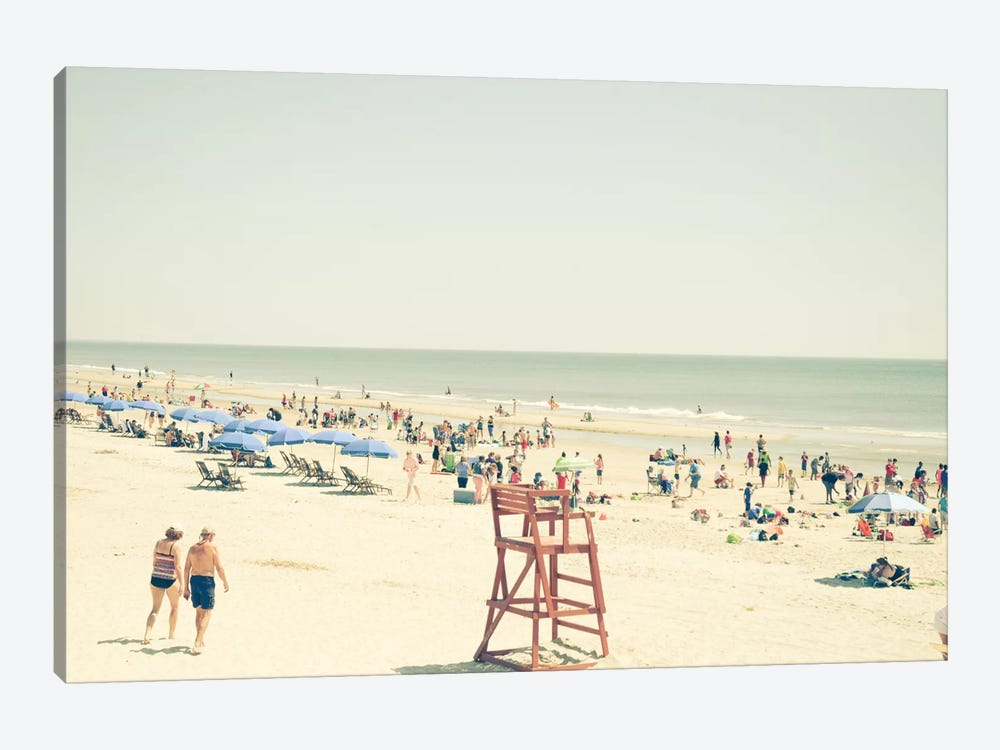 Beach People by Olivia Joy StClaire 1-piece Canvas Art Print