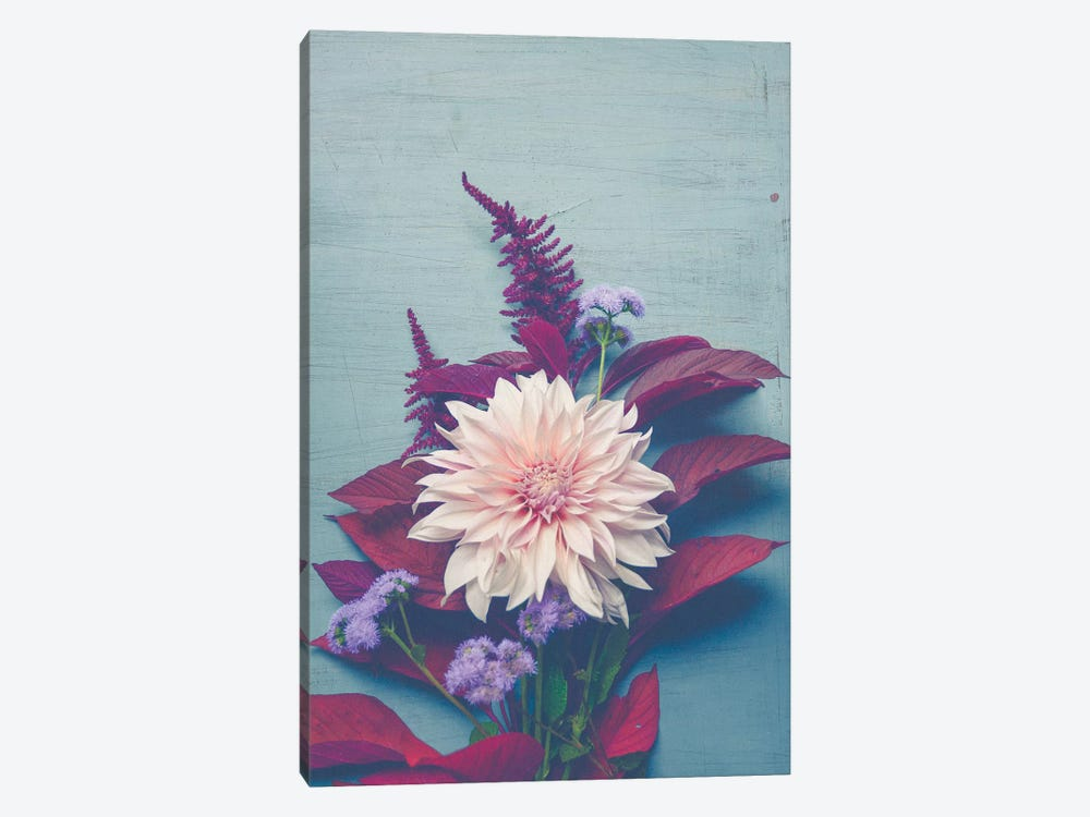 Autumn Floral by Olivia Joy StClaire 1-piece Canvas Print
