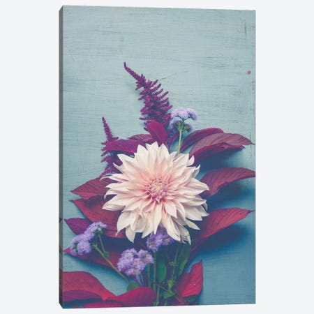 Autumn Floral 3-Piece Canvas #OJS94} by Olivia Joy StClaire Canvas Print
