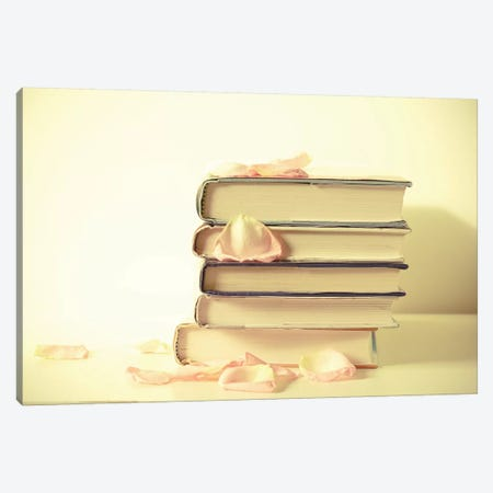 Books Canvas Print #OJS9} by Olivia Joy StClaire Canvas Art Print
