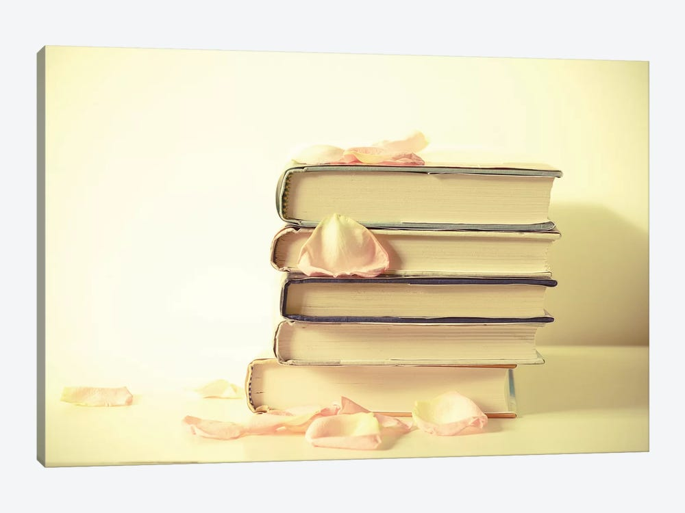 Books by Olivia Joy StClaire 1-piece Canvas Artwork