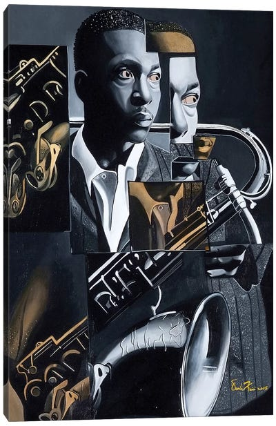 Coltrane Canvas Art Print