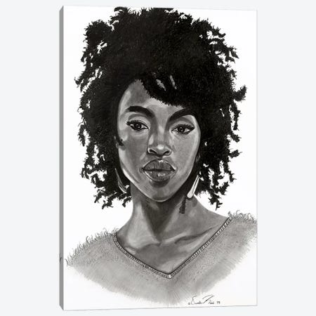 Lauryn Canvas Print #OKA29} by Oronde Kairi Canvas Artwork