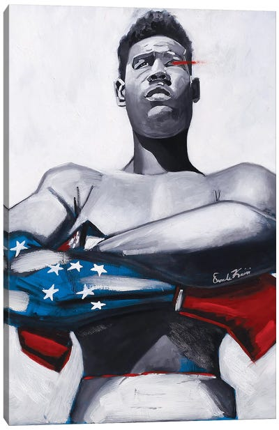 American Joe Canvas Art Print