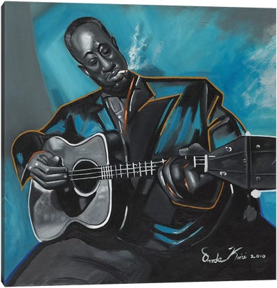 Big Bill Broonzy Canvas Art Print