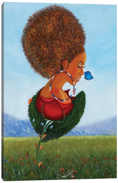 The Growth Of A Woman Canvas Art Print