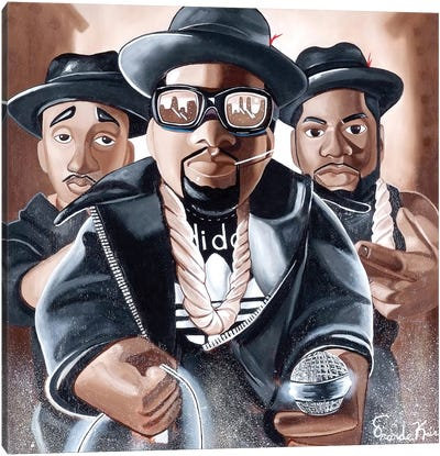 Toy Emcees Canvas Art Print
