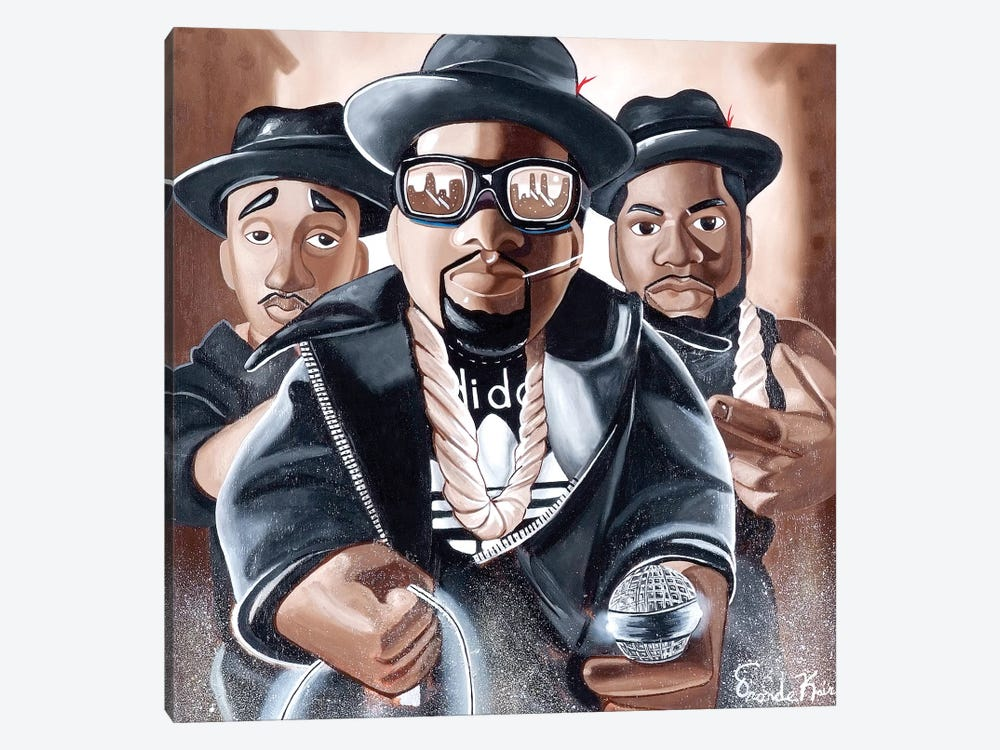 Toy Emcees by Oronde Kairi 1-piece Canvas Art Print