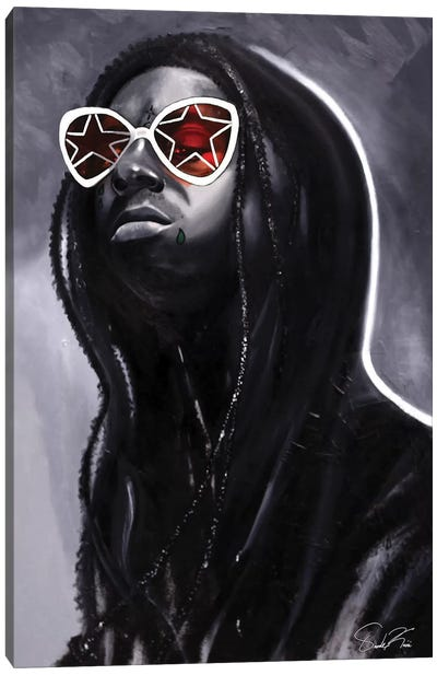 Wayne Canvas Art Print