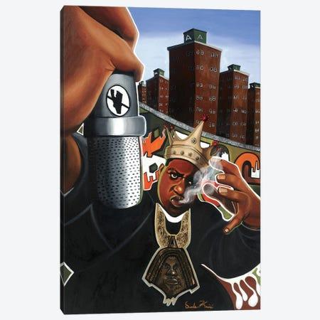 Biggie Canvas Print #OKA5} by Oronde Kairi Canvas Art