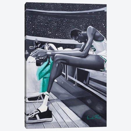 Bill Rusell Canvas Print #OKA6} by Oronde Kairi Canvas Art