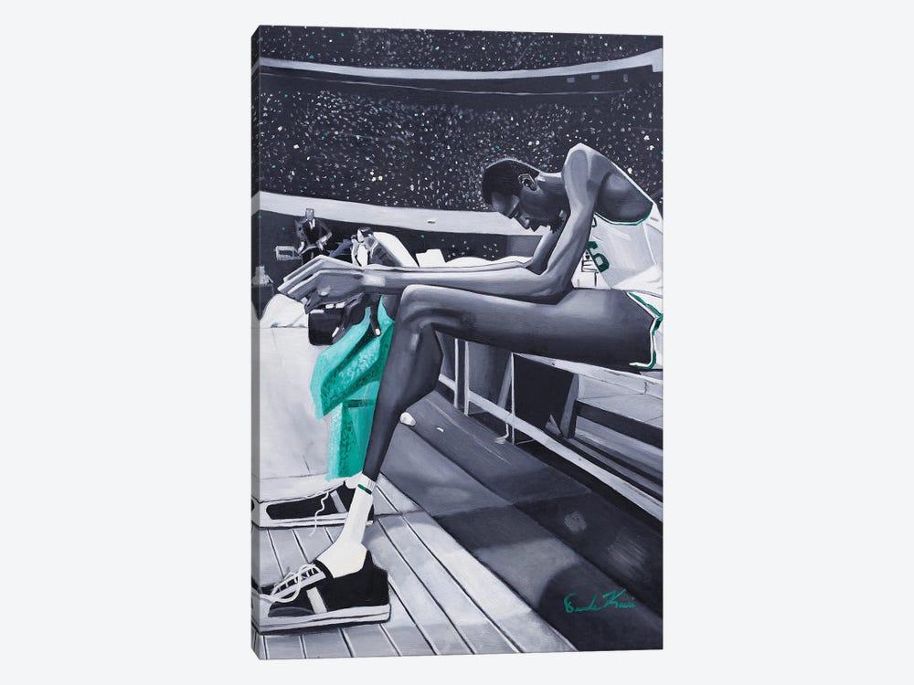 Bill Rusell by Oronde Kairi 1-piece Canvas Artwork