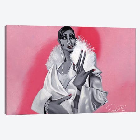 Queen Josephine Canvas Print #OKA71} by Oronde Kairi Art Print