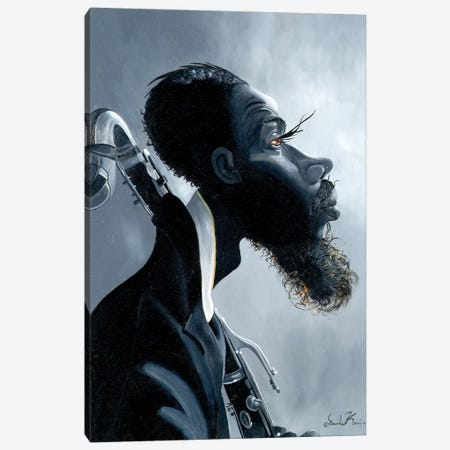 Brother Eric Canvas Print #OKA9} by Oronde Kairi Canvas Art Print