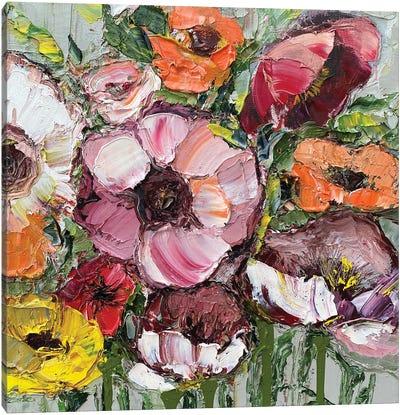 Pretty Poppies Canvas Art Print