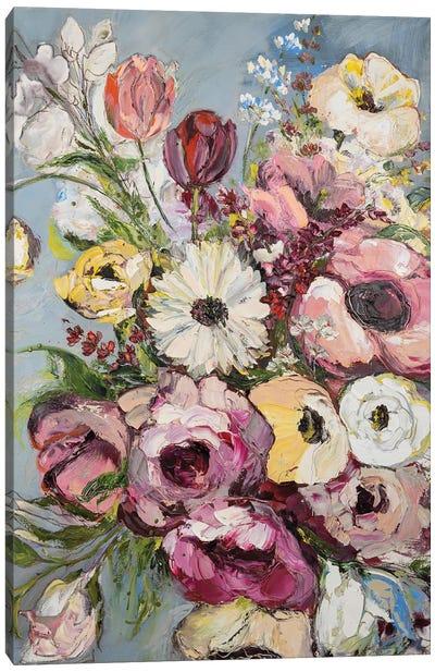 Blooming Summer Canvas Art Print