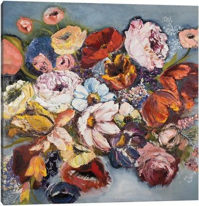 Inside The Floral Dream Canvas Art Print