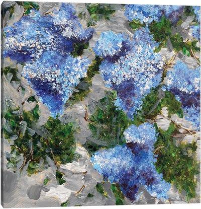 Lilac Brush Canvas Art Print