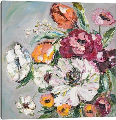 Floral Spring Canvas Art Print
